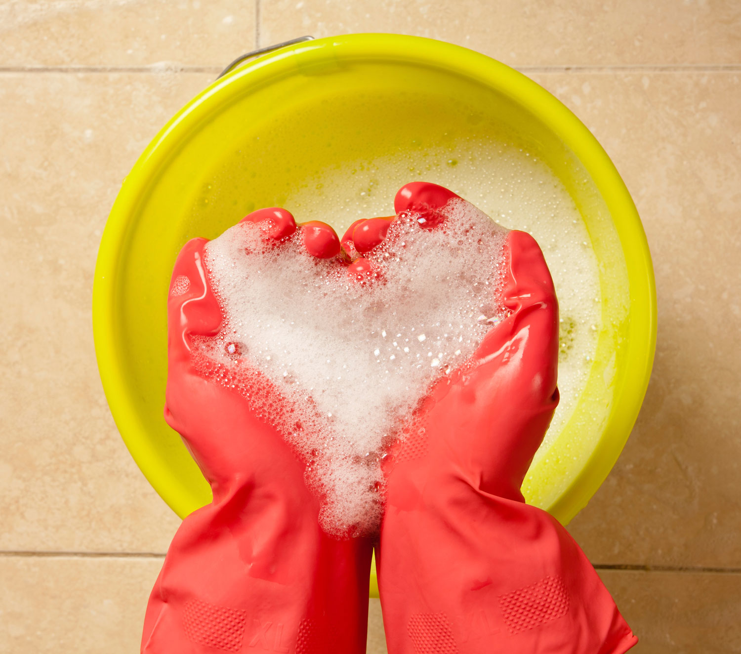 cleaning-soap-heart